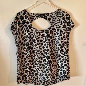 Sanctuary Clothing Leopard Print blouse